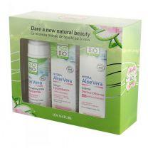 Aloe Vera setti - Luonnonmukainen kasvohoito herkälle & reaktiiviselle iholle