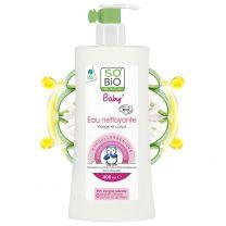 Luonnonmukainen Body & Face-puhdistusvesi vauvoille (400ml)