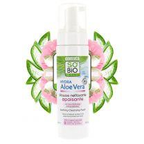 Bio Aloe Vera puhdistusvaahto - Herkälle & reaktiiviselle iholle (150ml)