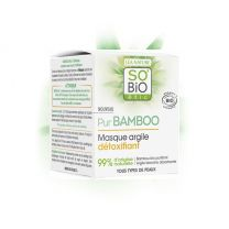 Bio detox kasvonaamio- PUR BAMBOO