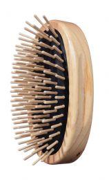 Old style iso puinen harja miehille (FSC)