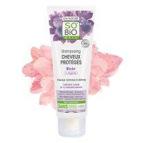 Bio shampoo Risiiniöljy ja Arginiini - Normaaleista vaurioituneille hiuksille (250ml)