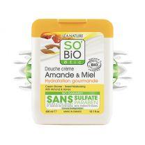 Bio suihkuvoide - Manteli & hunaja (300ml)