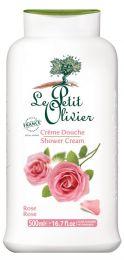 Hellävarainen suihkuvoide Ruusu Le Petit Olivier